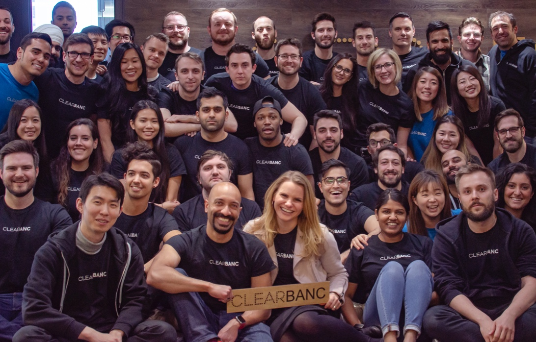 Clearbanc Team Pic
